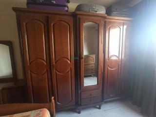 Chambre a coucher complète en bois hêtre