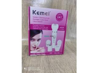 جهاز تنظيف ونظارة الوجه KEMEI 5 In 1