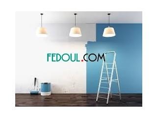 Peintre plomberie travaux de rénovation de maison