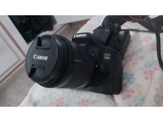 Caméra Canon EOS 750D