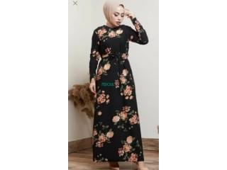 فستان تركي كراب ليكرا