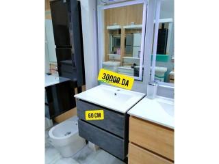 Meuble salle de bain pvc 100%