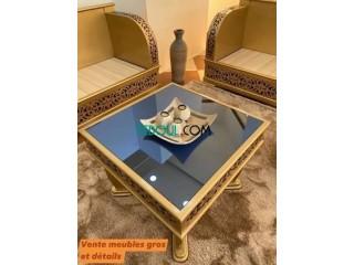 Banquette Sultan un nouveau modèle en bois rouge qualité et finition garantie