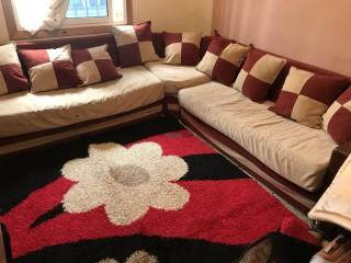 Fauteuil+ tapis+rideau