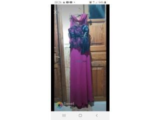 Robe de soirée ,robe d'hôtesse, robe caftan karakou