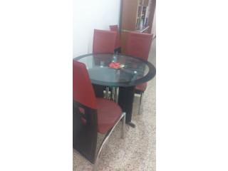 Table et 4 chaire