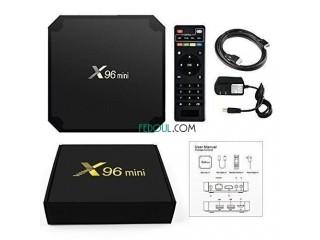 Mr Smart Tv Box Tv Box 4K -X96 Mini 2Gb 16Gb - Noir