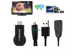 Récepteur Adaptateur - MiraScreen - Chromecast - Noir