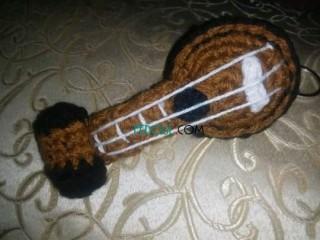 Portes clés au crochet