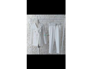 Costume disponible 4Clr :mauve/vert/marron/blanc