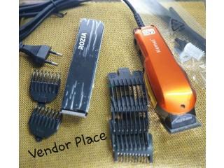 Promotion ???? Pack 2 tondeuse kemei Orange + mini Rozia بروموصيو 2 آلات حلاقة إحترافية