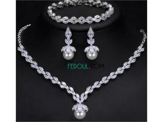 Ensemble de bijoux de luxe pour femmes