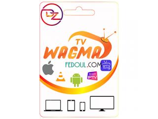 Wagma TV IPTV Abonnement 3/6/12 Mois