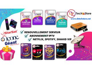 Abonnement Serveur & IPTV