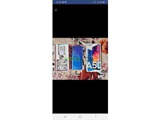 Samsung a50 bleu
