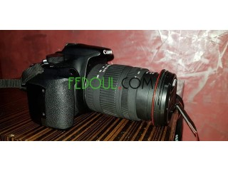 Canon 1200d objectif 18-200 sigma