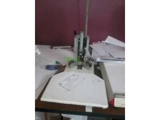 Matériel complet pour imprimerie numérique