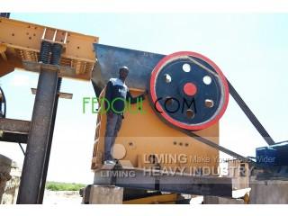 Concasseur à mâchoire débit 150 tons/heure