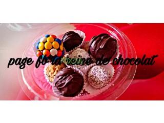 Truf au chocolat تروف بشوكولا