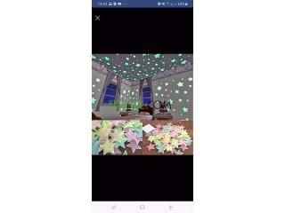 نجوم مضيئة لتزيين الغرف للاولاد