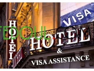 Réservation d'hôtel confirmée et annulable pour dossier de visa