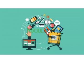 Paiement en ligne sur divers produits et services