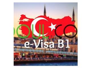 Visa électronique B1 pour la Turquie