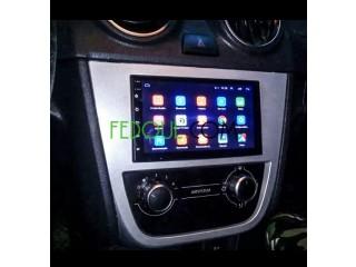 Écran LCD 7 pousse pour voiture
