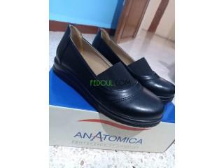 Chaussure orthopédique femme