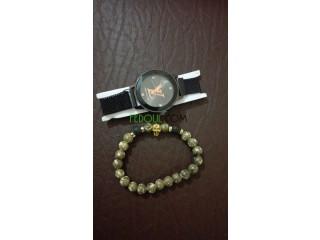 Montres et bracelet cadraux tendance