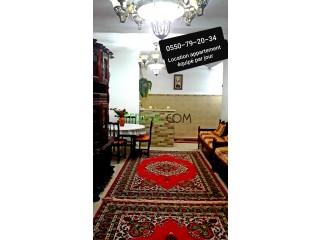 Location appartement équipé par jour Oran