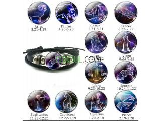 Bracelet de constellation (signe du zodiaque)