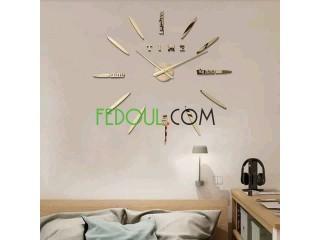 Horloges murales 3D