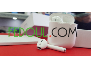 Airpods V2 recharge sans-fil sous plastique
