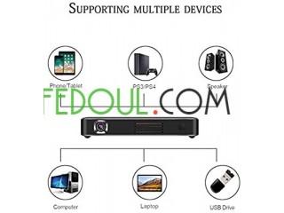 SMART WI-FI 4K ULTRA HD MOBILE WIRELESS PROJECTOR