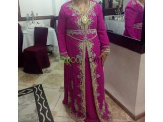 Caftan et robe soirée