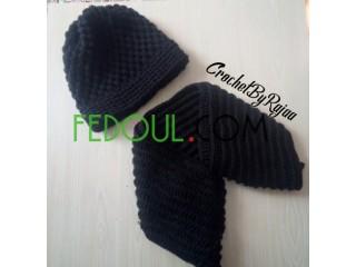 Bonnet et écharpe pour adultes