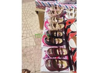 Chaussures petite filles en gros