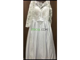Robe blanche à vendre