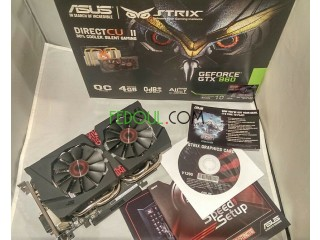 GTX 960 4GB ASUS STRIX Oc EDITION