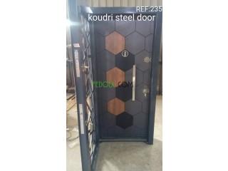 Porte d'entrée blindée turque