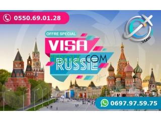 VISA RUSSIE فيزا روسيا
