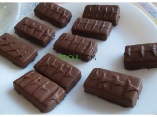 Mini bar chocolat foure au noix de coucou