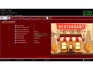 Logiciel de gestion de caisse des Restaurants/cafétérias