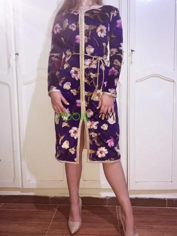 robe-caftan-en-velour-imprime-kftan-katyf-aasry-big-0