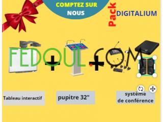 Tableau interactif, borne tactile ,système de conférence