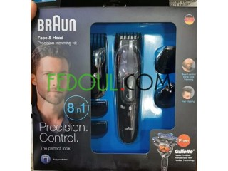 Kit BRAUN original germain multifonction 8en1+ lame Gillette Cadeau