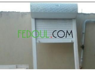 Porte fenêtre PVC& évier de cuisine