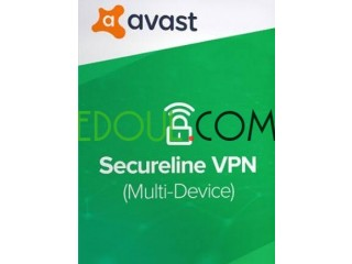 Avast SecureLine VPN 5 postes 1 an