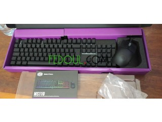 Clavier souris gamer MS110 CoolerMaster
